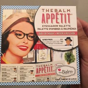 The Balm appetit eyeshadow palette. New